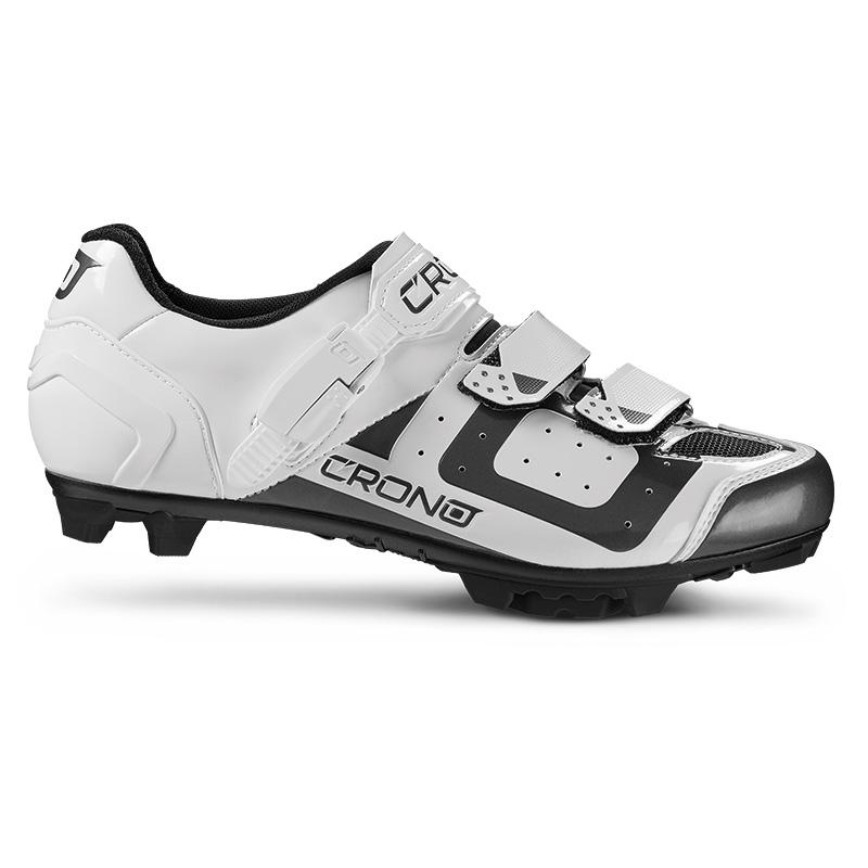 25a03e6793 Cyklistické tretry MTB Crono CX3 white (bílé)