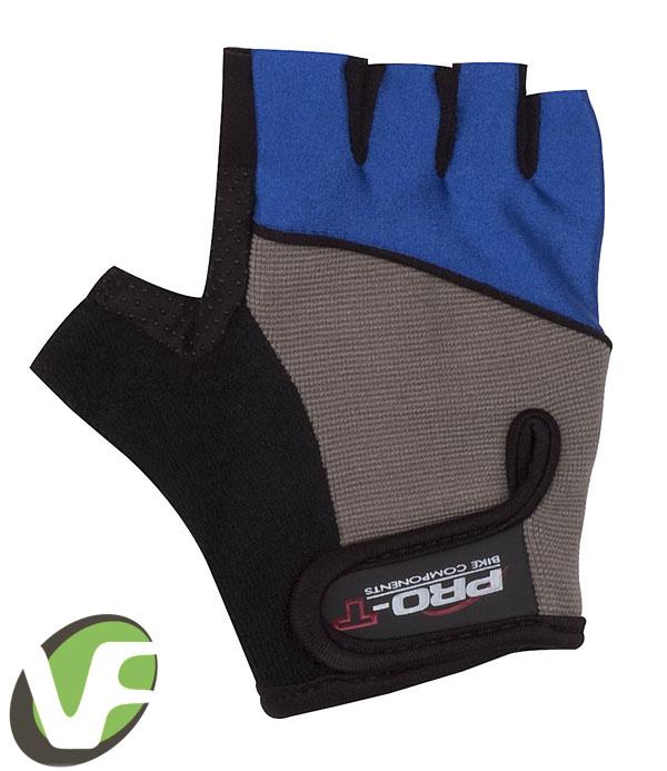 Dětské cyklistické rukavice Pro-T Rimini modrá  2e8fdb384d