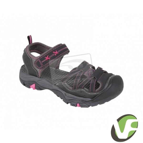 Dámské sandály Loap Mink tmavě šedá   růžová  3ae6721ee44