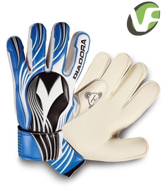 Fotbalové brankářské rukavice Diadora Gamma Torneo modré ... 81ce5863df