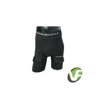 Hokejové kraťasy Winnwell Jock Short compression box sr senior